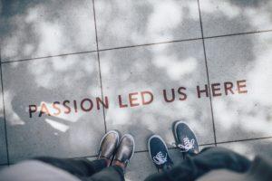 Passion led us here - Leidenschaft führte uns hierher